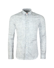 Paul Smith Mens White Slim LS Shirt
