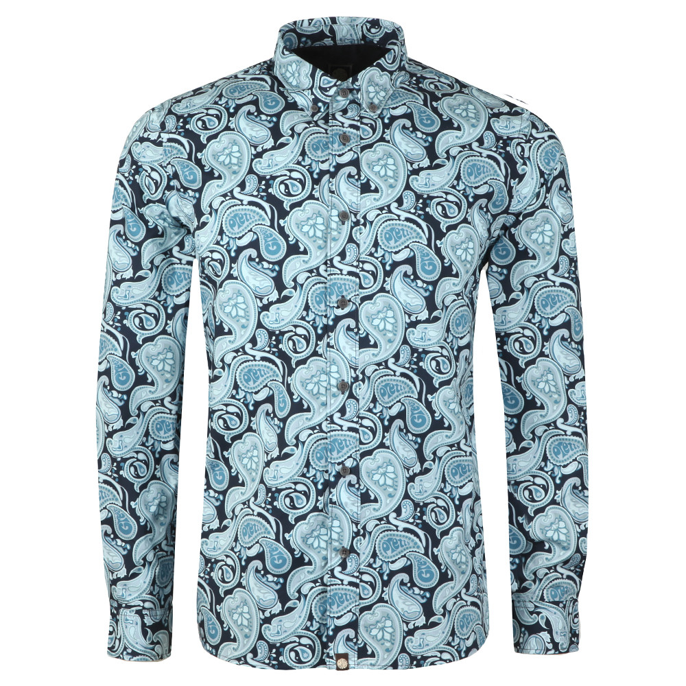 f0ccfc3ca7 Pretty Green Classic Fit Paisley Print Shirt | Masdings