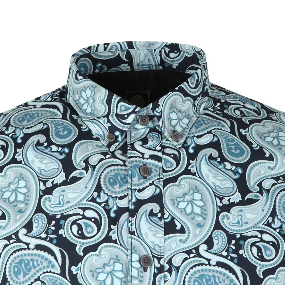 Classic Fit Paisley Print Shirt main image