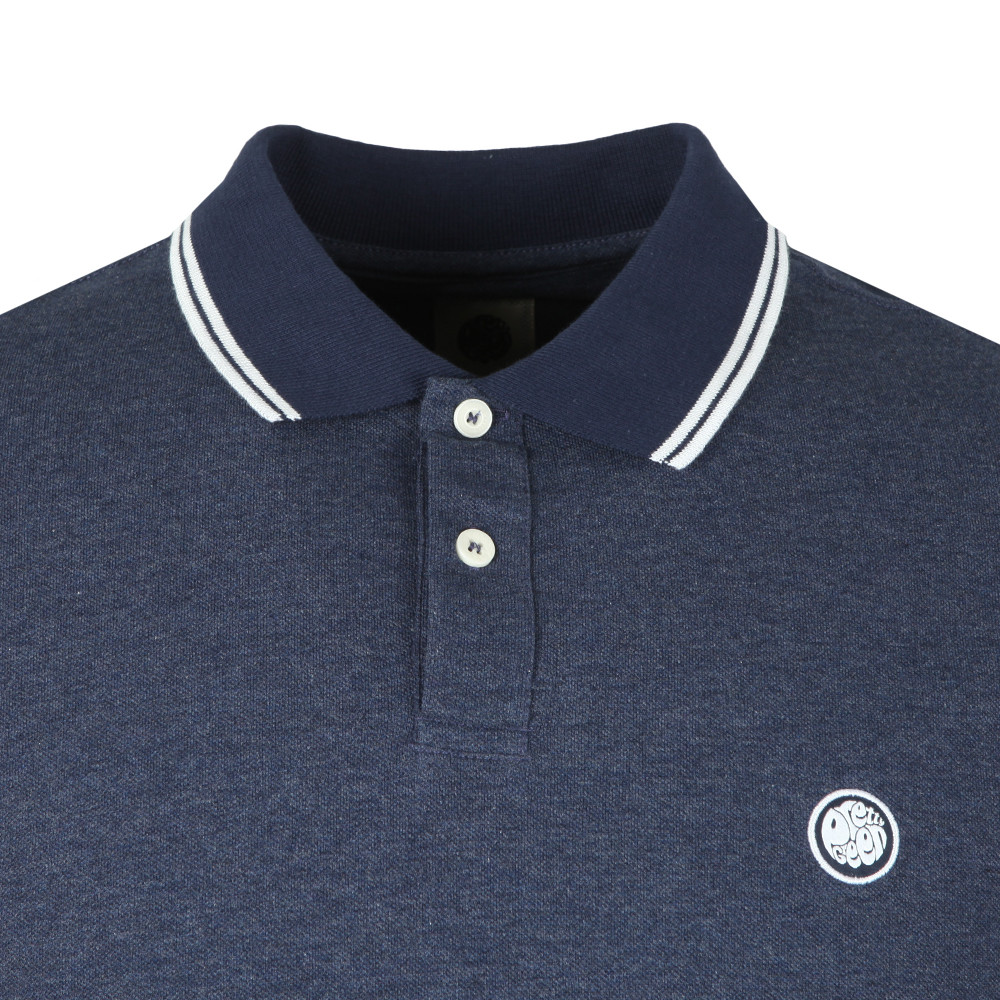 Tipped Collar Polo Shirt main image