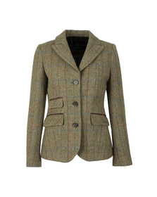 Barbour Lifestyle Womens Green Rannerdale Tailored Jacket