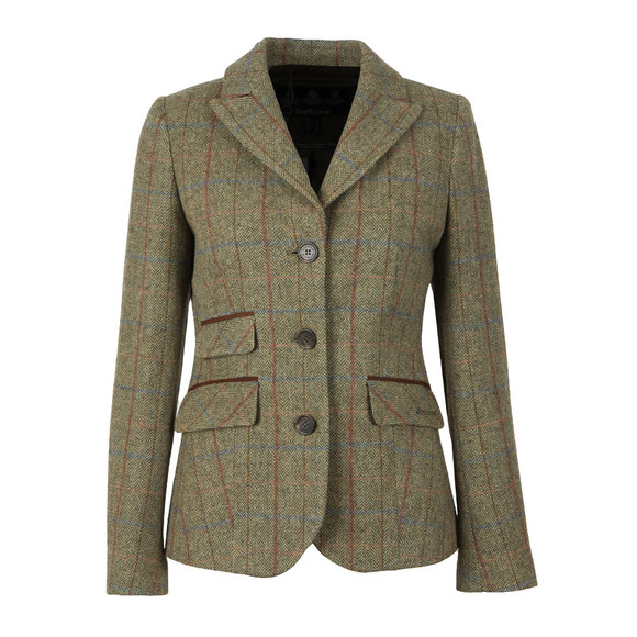 Barbour Lifestyle Womens Green Rannerdale Tailored Jacket main image