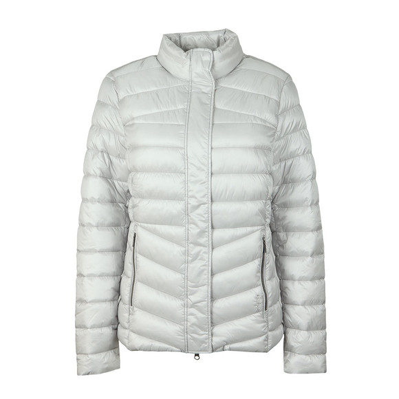 Barbour Lifestyle Womens White Vartersay Quilted Jacket main image