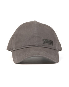 Barbour International Mens Grey Norton Drill Cap