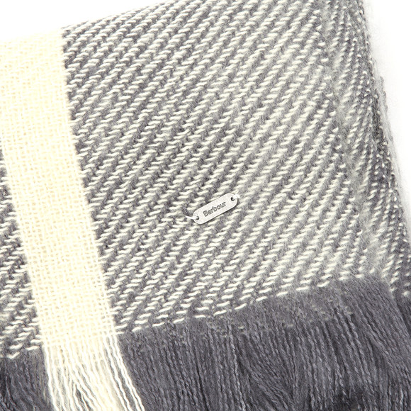 Barbour Lifestyle Womens Grey Munro Scarf main image