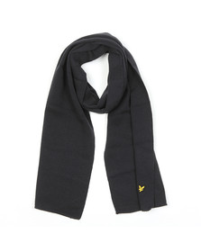 Lyle and Scott Mens Blue Scarf