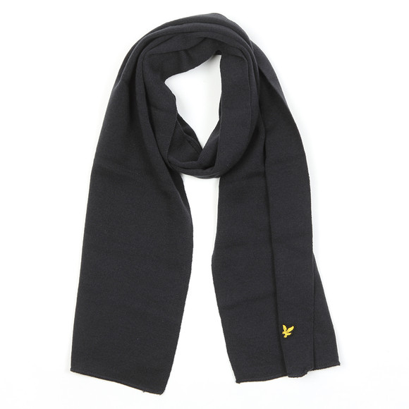 Lyle and Scott Mens Blue Scarf main image