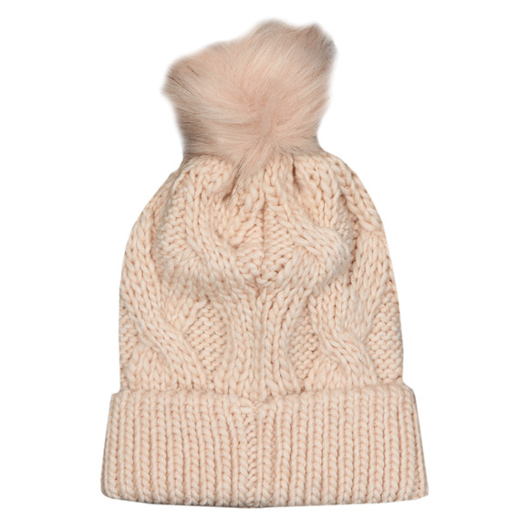 Barbour International Womens Pink Bridport Pom Hat main image