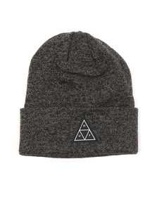 HUF Mens Black Triple Triangle Beanie