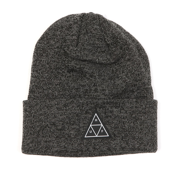 HUF Mens Black Triple Triangle Beanie main image