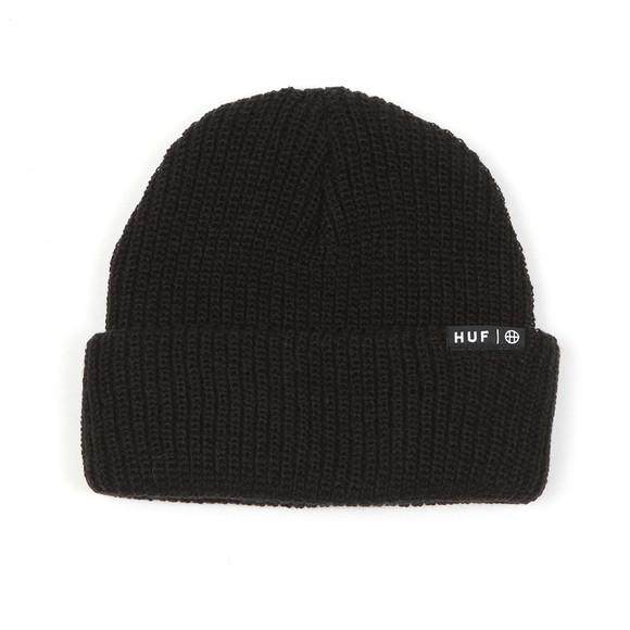 HUF Mens Black Usual Beanie main image