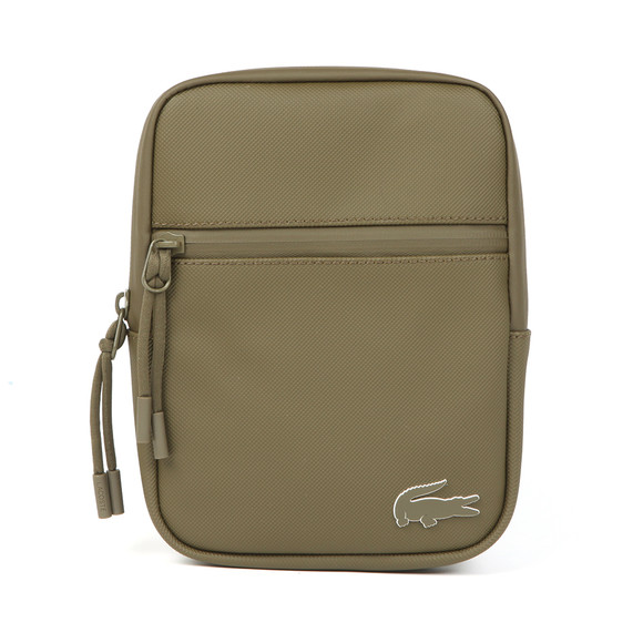 Lacoste Mens Green S Flat Crossover Bag main image