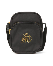 Kings Will Dream Mens Black Logo Manbag
