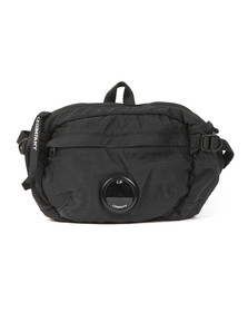 C.P. Company Mens Black Viewfinder Bumbag