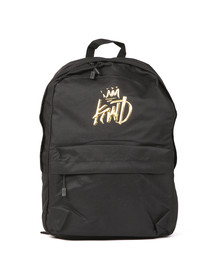 Kings Will Dream Mens Black Merrow 3D Logo Backpack