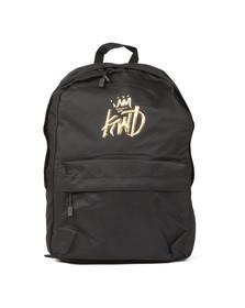 Kings Will Dream Mens Black Merrow 3D Logo Backpack
