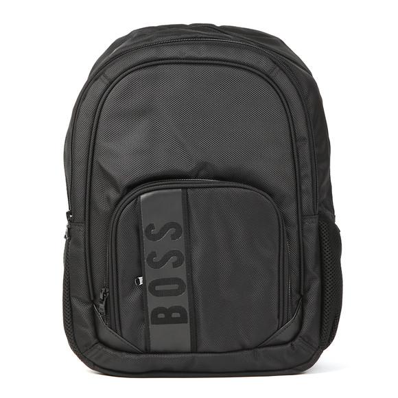 BOSS Loungewear Boys Black J20229 Backpack main image