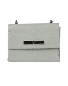 Ted Baker Womens Grey Juliah Concertina Mini Xbody Bag