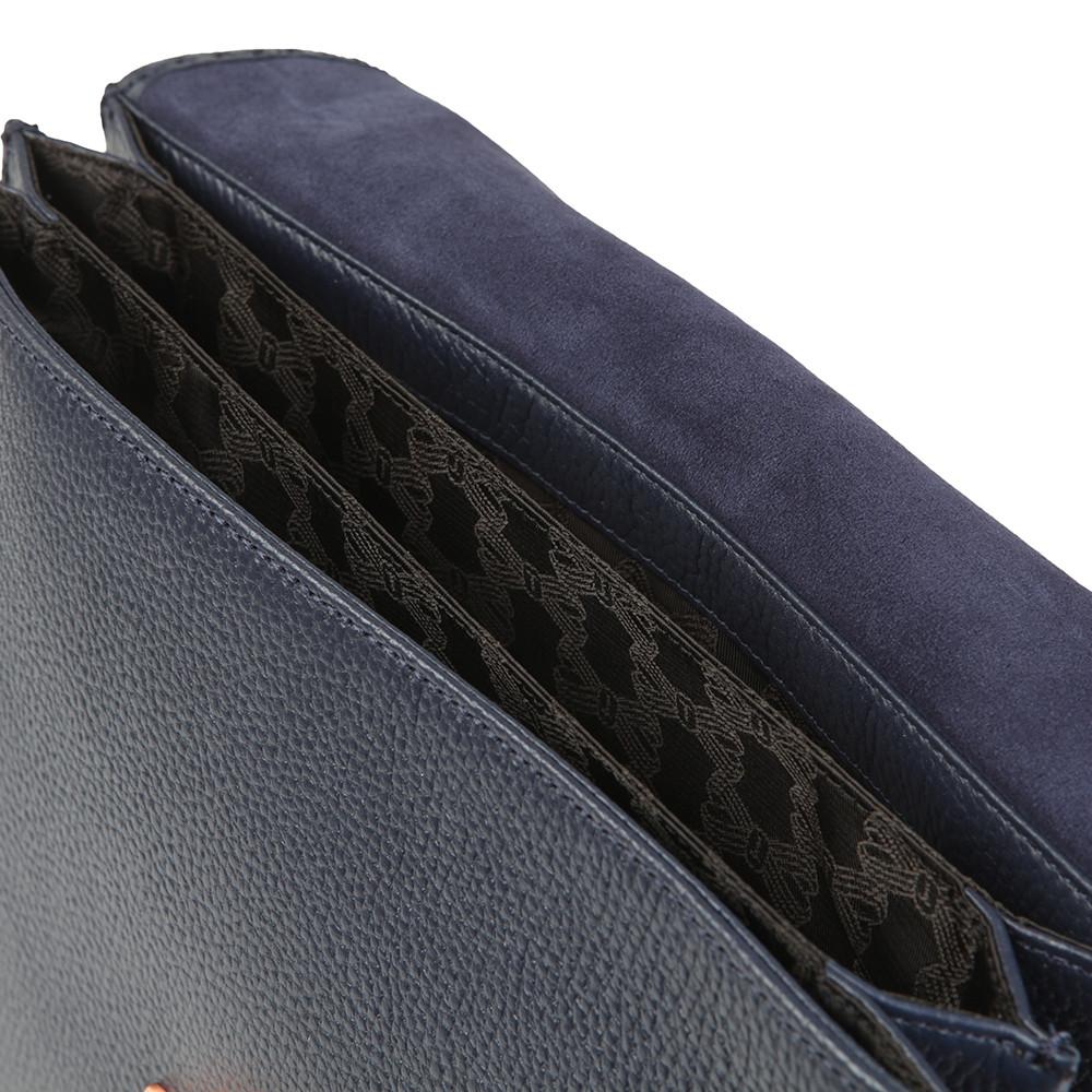 Jessi Concertina Leather Shoulder Bag main image
