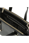 Ted Baker Womens Black Alyssa Bow Adjustable Handle Small Tote Bag