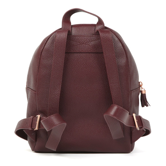 Ted Baker Womens Purple Mollyyy Tassle Soft Leather Backpack main image