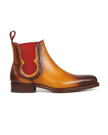 Jeffery West Mens Brown Dexter-B Fear Boot
