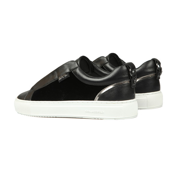 Karl Lagerfeld Mens Black Kupsole Karl Slip On Shoe main image