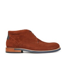 Ted Baker Mens Brown Daniios Suede Boot