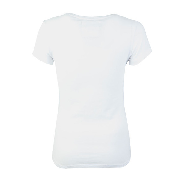 Superdry Womens White Rope Applique Entry Tee main image