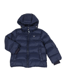 Gant Boys Blue Alta Puffer Jacket