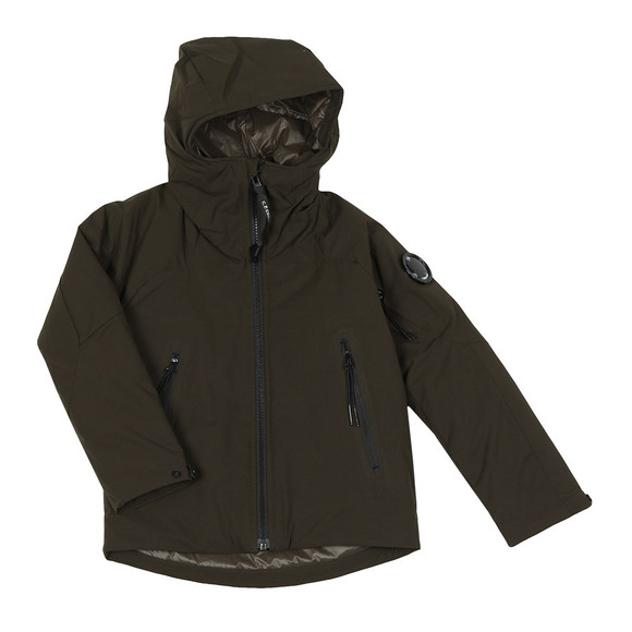 C.P. Company Undersixteen Boys Grey Hooded Protek Jacket main image