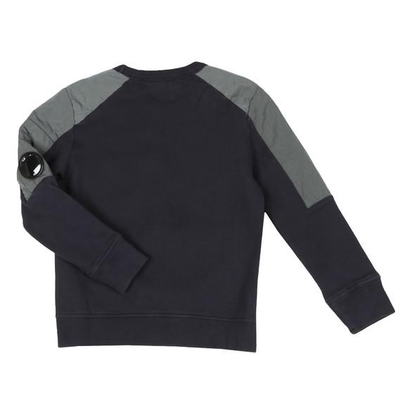 C.P. Company Undersixteen Boys Blue Viewfinder Mix Sweatshirt main image