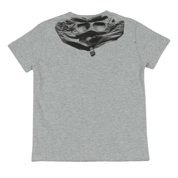 C.P. Company Undersixteen Boys Grey Printed Goggle T Shirt main image