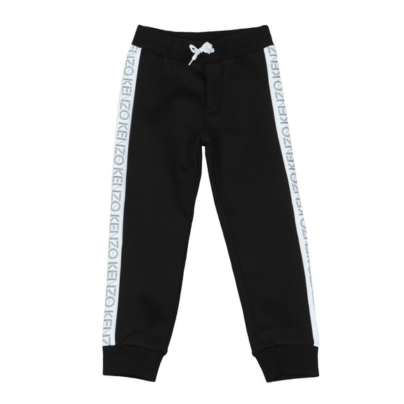 Kenzo Kids Boys Black Tape Logo Sweatpant main image