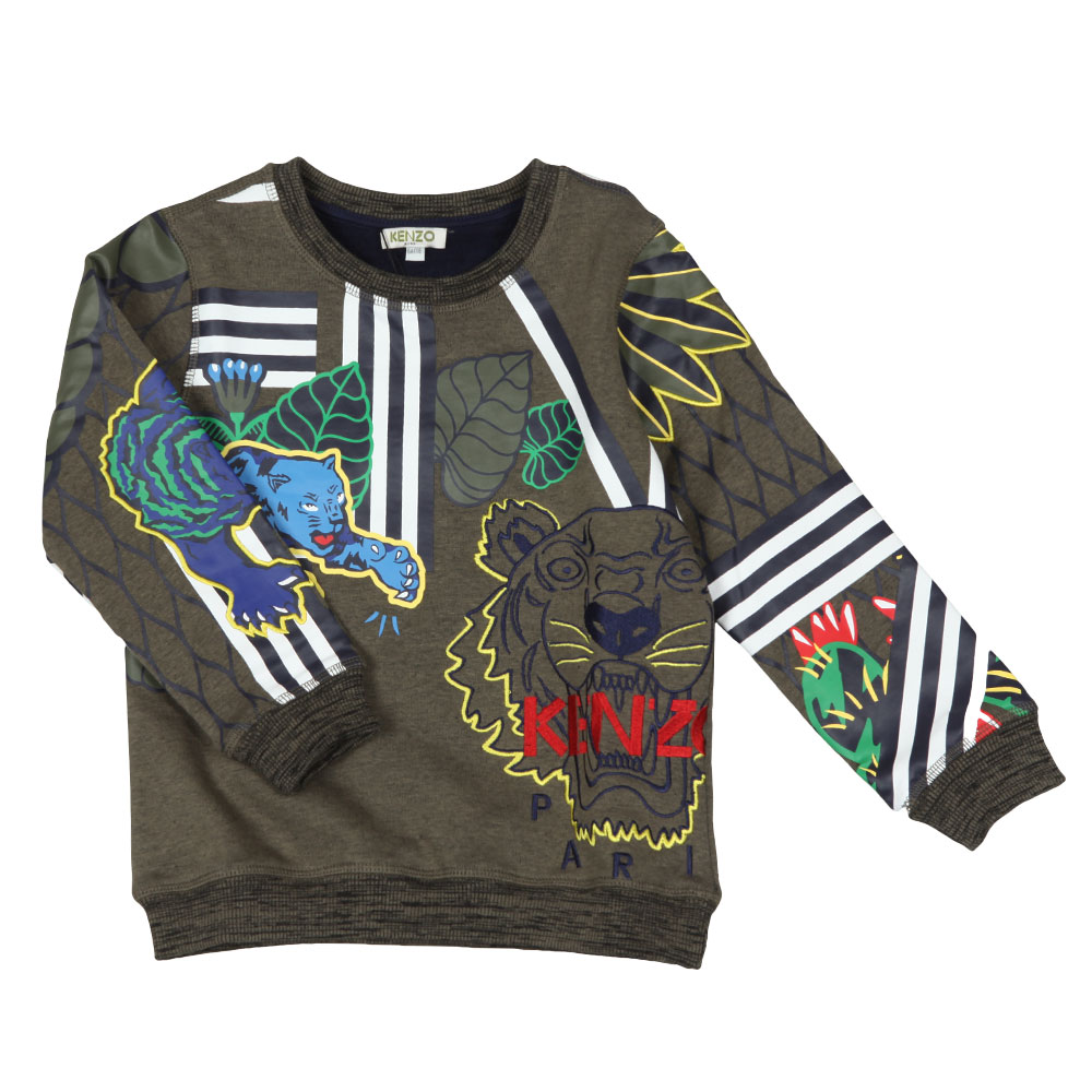 fb8105ed9 Kenzo Kids Fantastic Jungle Sweatshirt | Oxygen Clothing