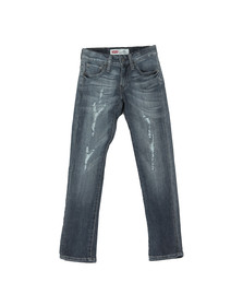 Levi's Boys Distressed Indigo  520 Extreme Tapered Jean