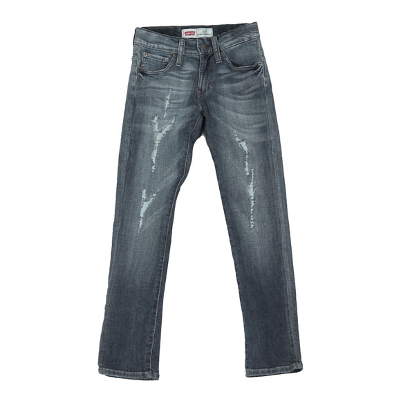 Levi's Boys Distressed Indigo  520 Extreme Tapered Jean main image