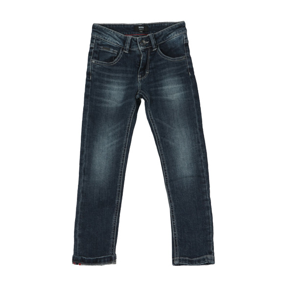 BOSS Bodywear Boys Blue Skinny Jean main image