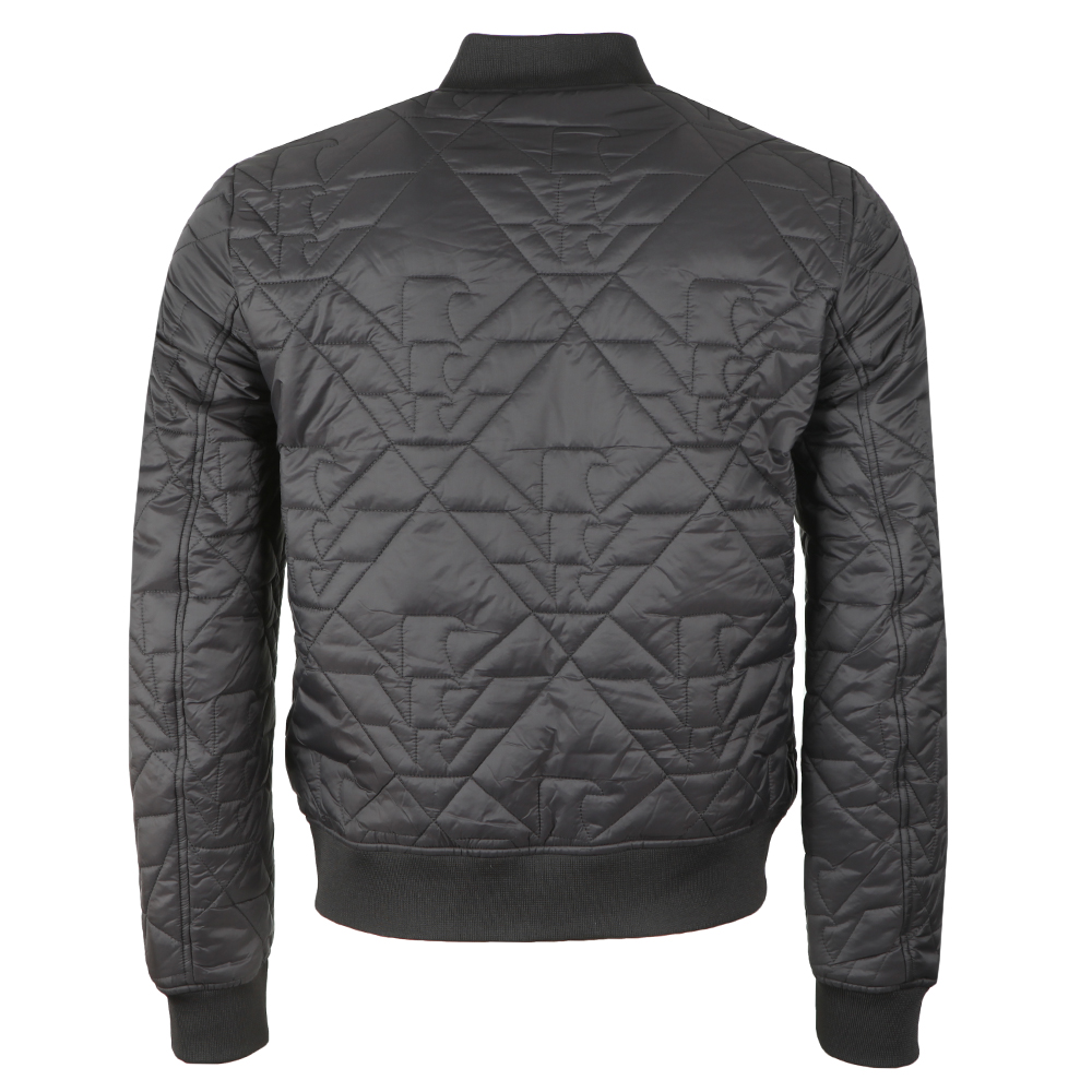 dc53f694 Mens Grey 6Z1B96 Eagle Quilted Jacket
