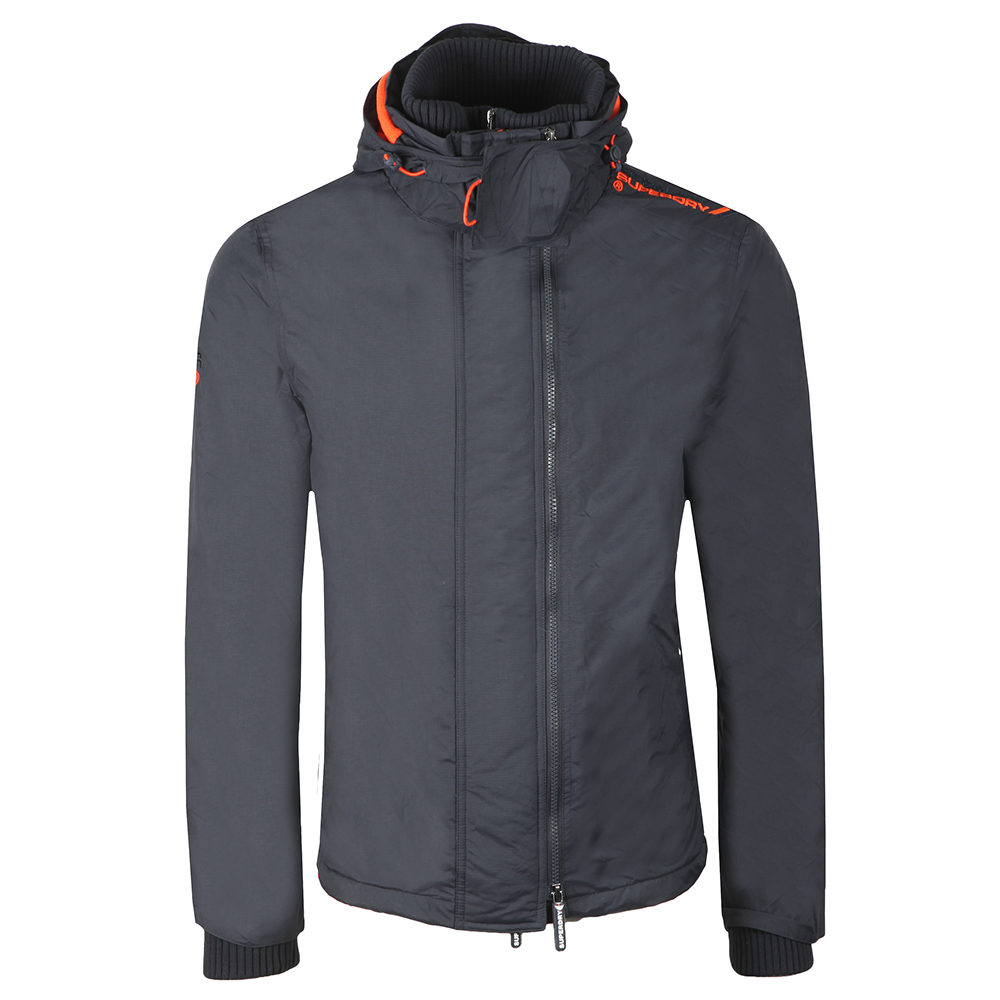 Arctic Hooded Pop Zip Windcheater main image