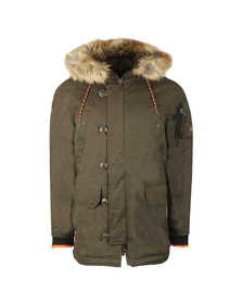Superdry Mens Green SDX Parka