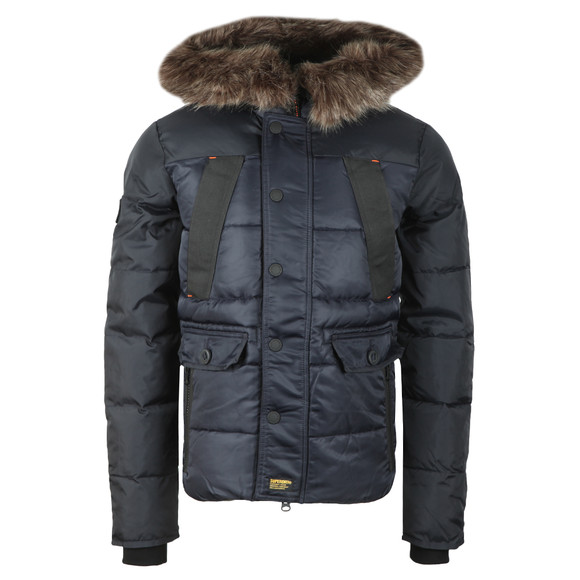 Superdry Mens Blue Chinook Jacket main image