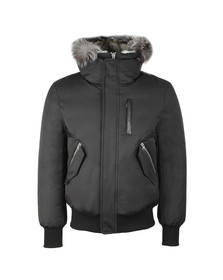 Mackage Mens Black Dixon-X Hooded Jacket