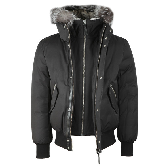 Mackage Mens Black Dixon-X Hooded Jacket main image