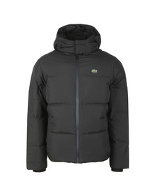 Lacoste Mens Black Bh9358 Jacket