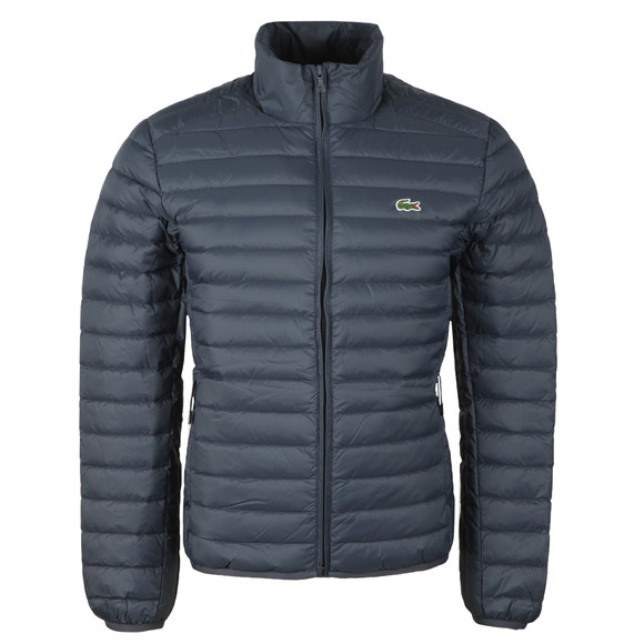 Lacoste Mens Blue Bh9389 Jacket main image
