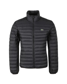 Lacoste Mens Black Bh9389 Jacket