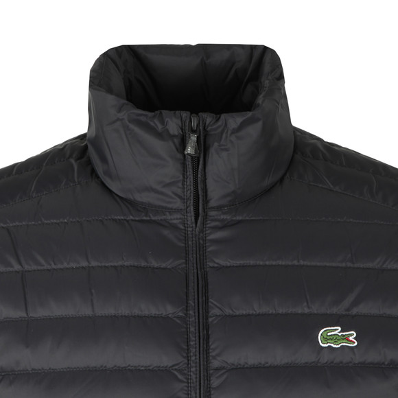 Lacoste Mens Black Bh9389 Jacket main image
