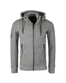 Superdry Mens Grey Expedition Ziphood