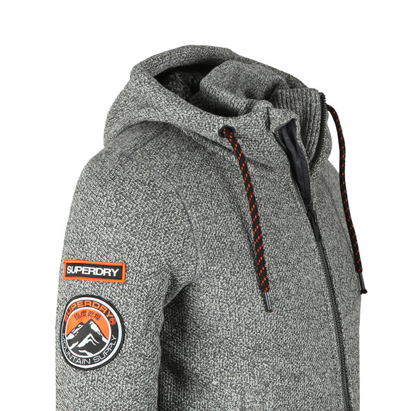 Superdry Mens Grey Expedition Ziphood main image